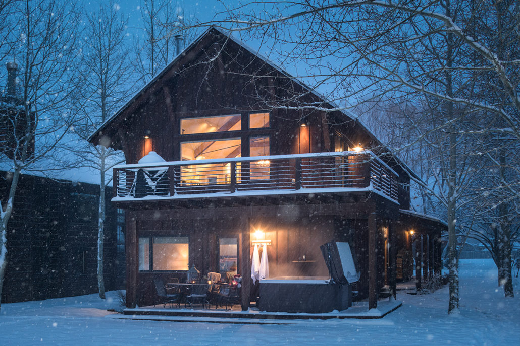 The Cozy Retreat of Three Wolves